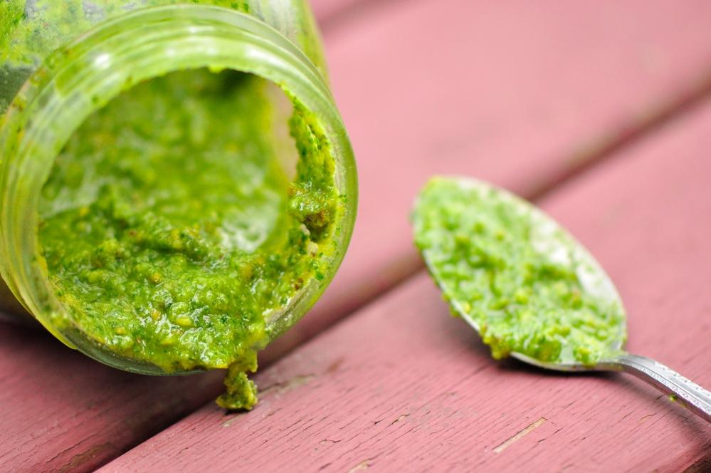 Pistachio, Arugula and Mixed Herb Pesto