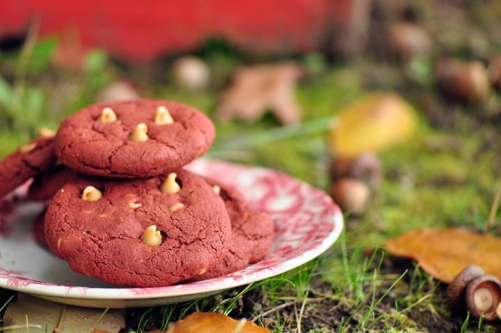 Gluten-Free Red Velvet Cookies