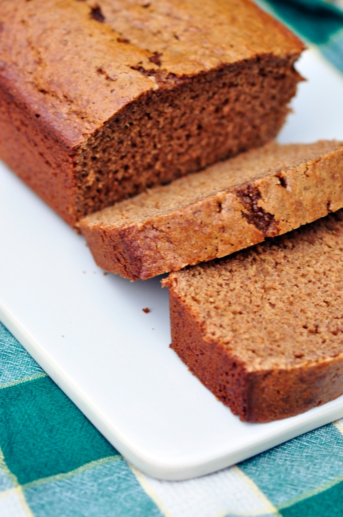 Apple Butter Gingerbread Loaf