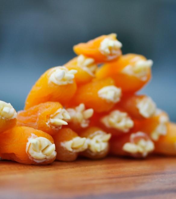 Stuffed Apricot Appetizers