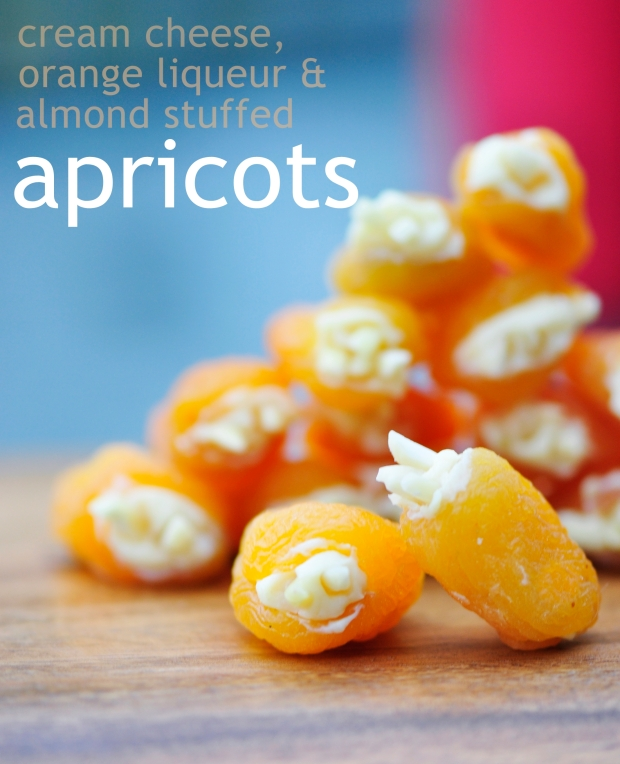Stuffed Apricot Appetizers
