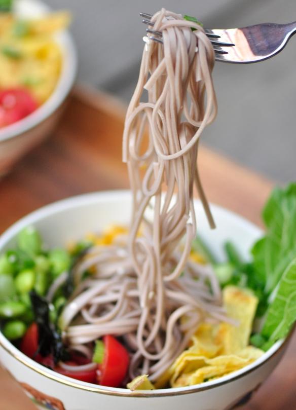 Japanese Cold Noodle Salad