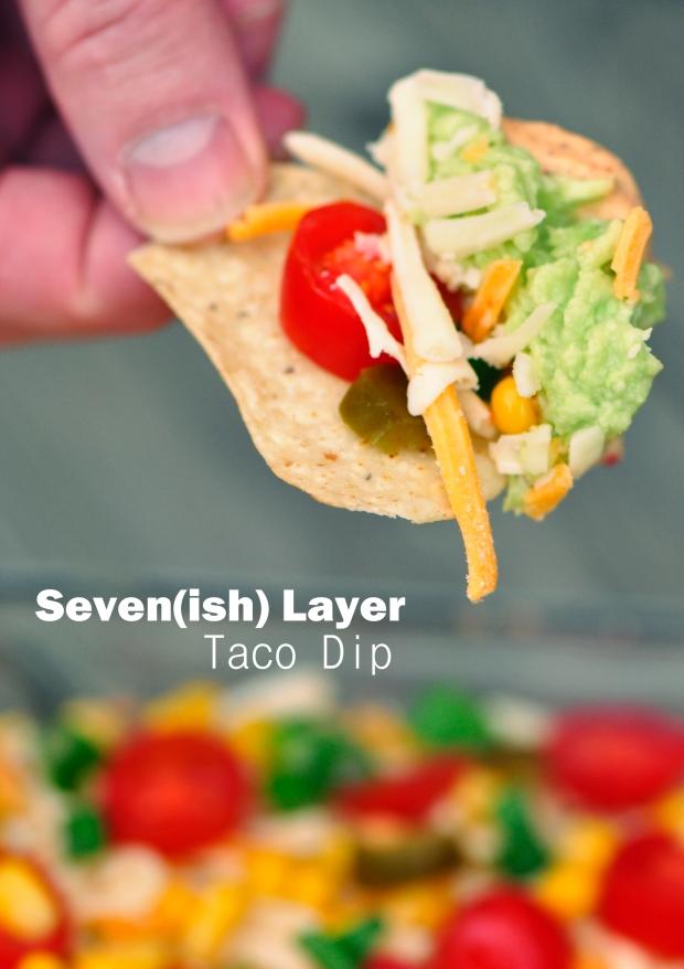 Seven Layer Taco Dip