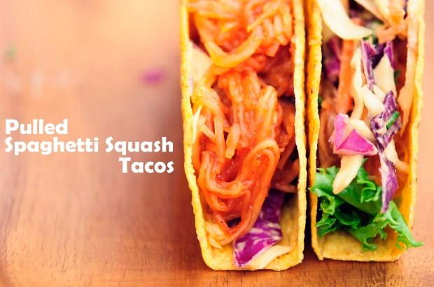 Pulled Spaghtti Squash Tacos