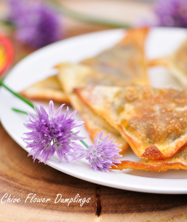 Chive Flower Dumplings