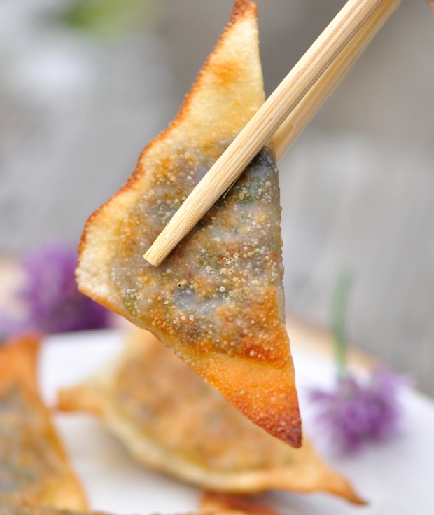 Fried Chive Dumplings