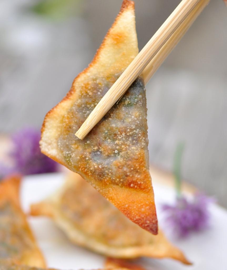 Fried Chive Dumplings
