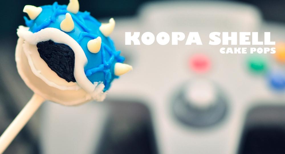Koopa Shell Cake Pops