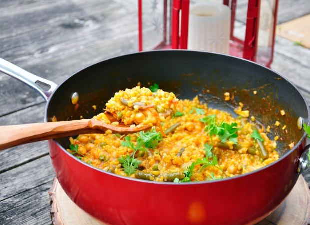 Brown Rice Paella