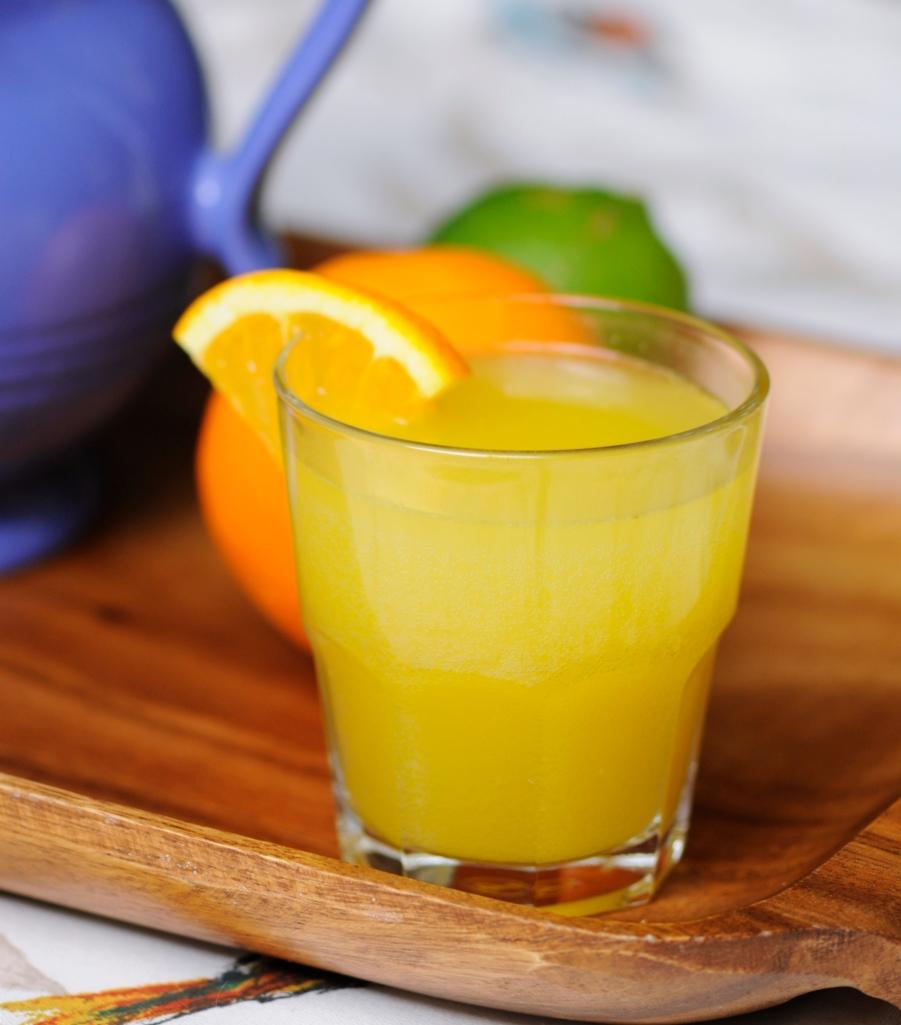 Homemade Orange Soda