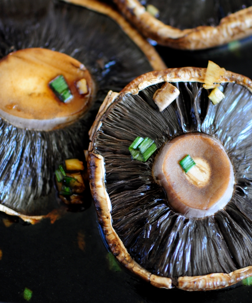 Asian Marinated Portobello Mushrooms