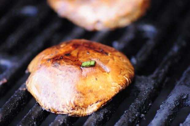 Asian Marinated Portobello Mushrooms