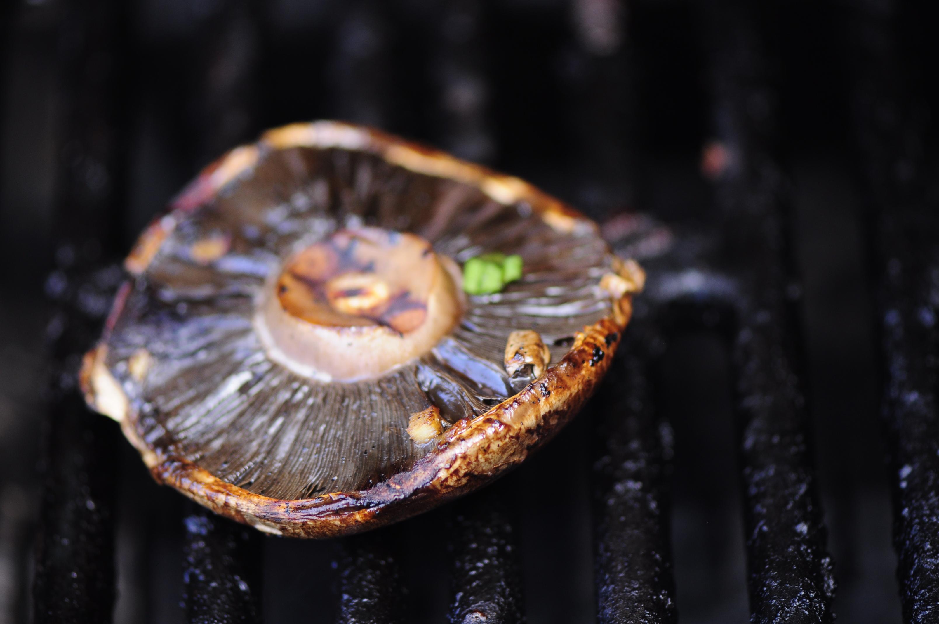 Asian Marinated Portobello Mushrooms – the vegetarian ginger
