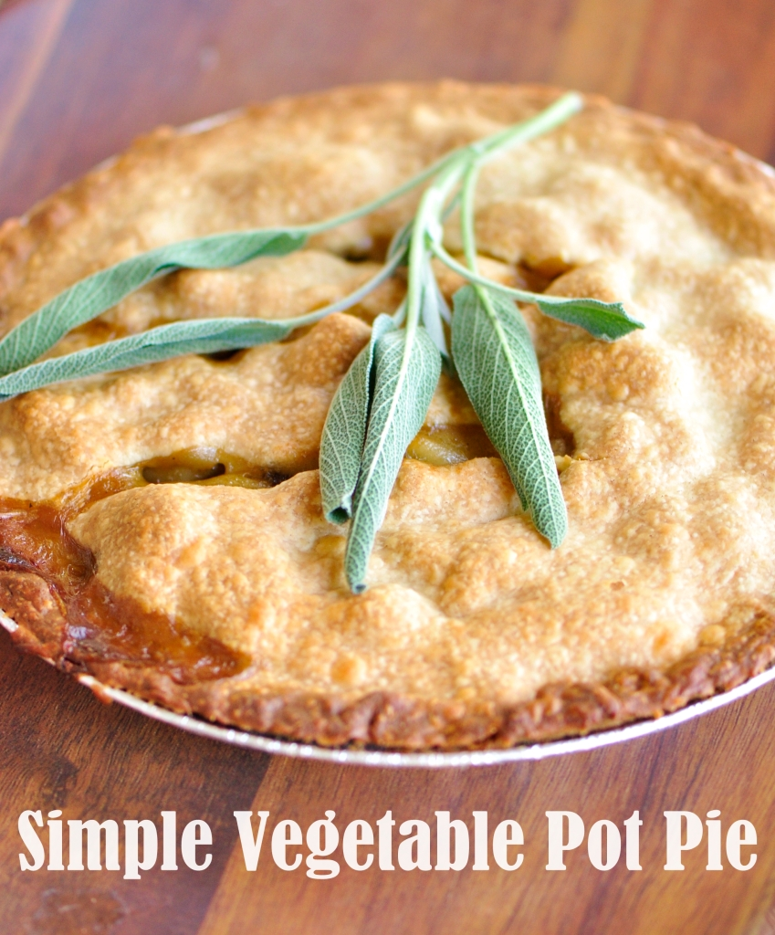Simple Vegetable Pot Pie