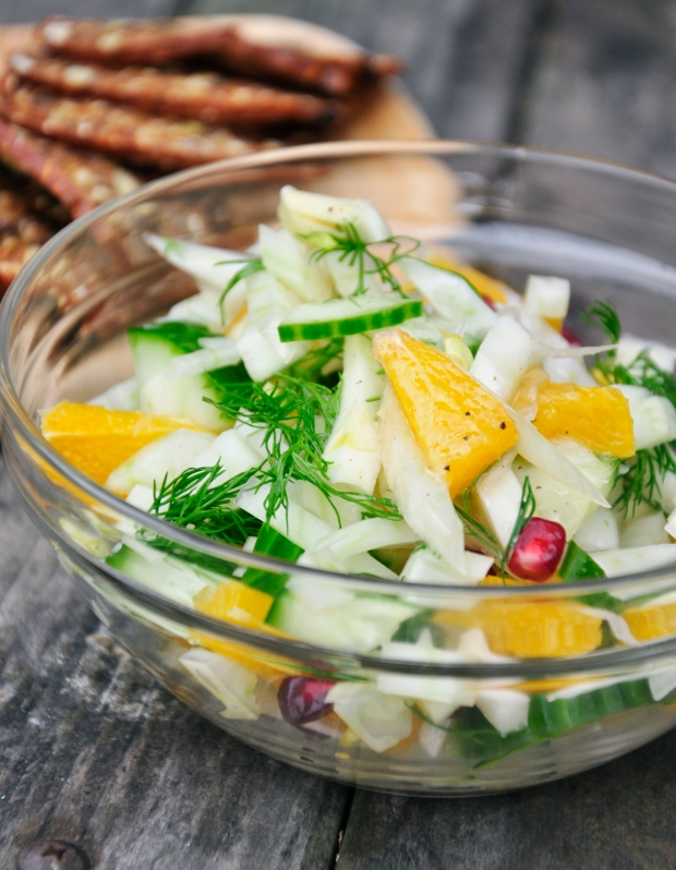Fennel, Orange and Dill Salad