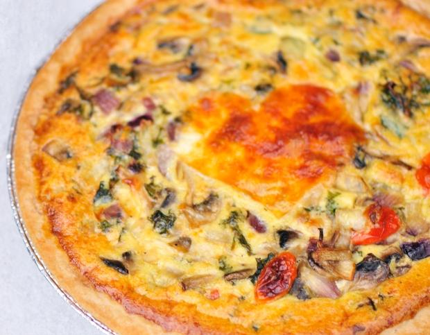 Foolproof Vegetarian Quiche
