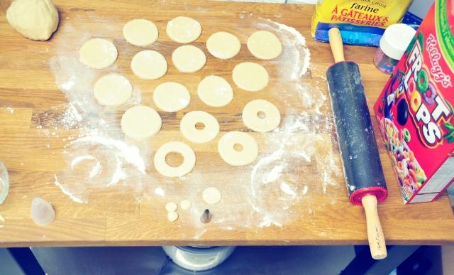 Fruit Loop Donuts